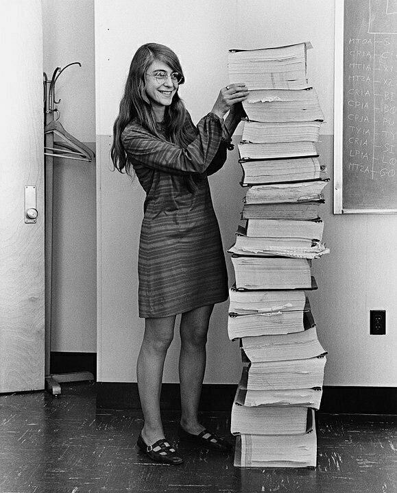 Margaret Hamilton, software engineer